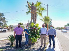 Recuerda Alcalde aniversario luctuoso de Benjamín Flores