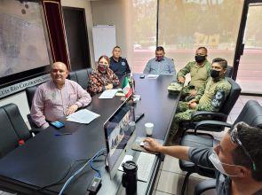 Realiza Alcalde reunión binacional de seguridad
