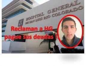 "Deudas ""Ahogan"" Hospital General de SLRC ."